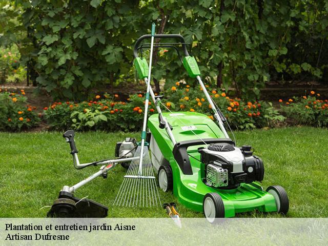 Jardinier pour l\'entretien de jardin 02 Aisne tél: 03.60.89.06.85