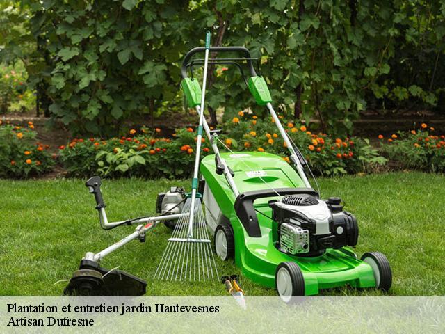 Jardinier pour l\'entretien de jardin à Hautevesnes tél: 03.60.89.06.85